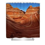 Wavescape Shower Curtain