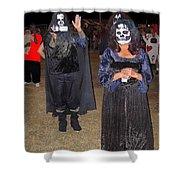 Waving Ghoul Cinematographer Halloween Casa Grande Arizona 2004 Shower Curtain