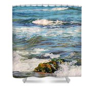 Sea Waves ...  Shower Curtain