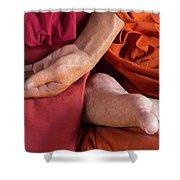 Wax Monk Shower Curtain