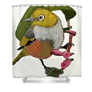 Waxeye Shower Curtain