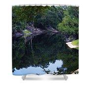 Way Down Upon The Suwannee River Fisheye Shower Curtain