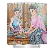 Way Of Thailand Shower Curtain