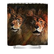 Way Of The Lion Shower Curtain