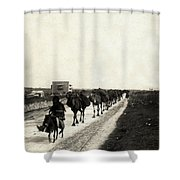Way To Bethlehem Shower Curtain