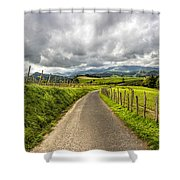 Way To Orio, Spain Shower Curtain