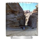 Way To Petra Shower Curtain