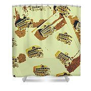 Wayback England Shower Curtain
