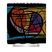 Ways And Emotions Shower Curtain