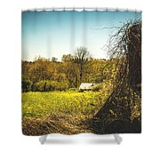 Forgotten Farmlands Shower Curtain