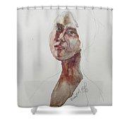 Wc Mini Portrait 7             Shower Curtain