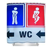 WC Shower Curtain