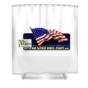 We Can - We Will - We Must  Shower Curtain
