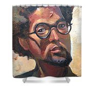 We Dream Shower Curtain by JaeMe Bereal