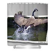 We Have Liftoff Shower Curtain