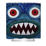 We Need Monsters #5 Shower Curtain