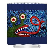 We Need Monsters #7 Shower Curtain