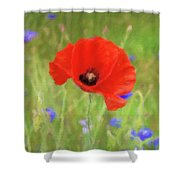 We Will Remember Them Shower Curtain
