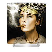Wealth And Riches Shower Curtain
