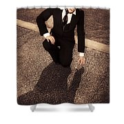 Wealth Of Discovering New Avenues Of Business Shower Curtain