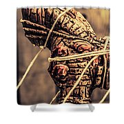 Weapon Of Mass Construction Shower Curtain