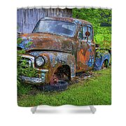 Wears Valley 1954 Gmc Wears Valley Tennessee Art Shower Curtain
