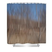 Weary Reflections Shower Curtain