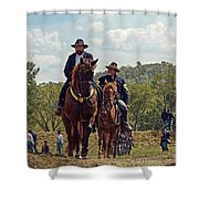 Weary Union Soldiers Shower Curtain