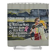 Weather The Storm Shower Curtain