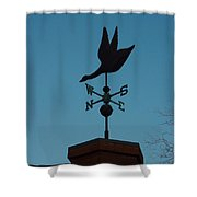 Weather Vane Shower Curtain