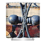 Weathered Duplication Shower Curtain