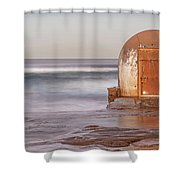 Weathered In Time Shower Curtain