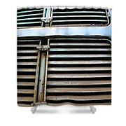 Weathered Metal Shower Curtain