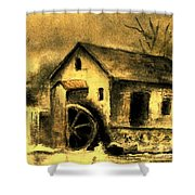 Weathering Life's Storms Shower Curtain