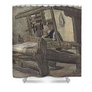 Weaver Nuenen, December 1883 - August 1884 Vincent Van Gogh 1853 - 1890 3 Shower Curtain