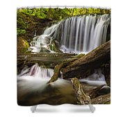 Weavers Creek Falls Shower Curtain