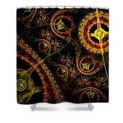 Weaveworld Shower Curtain