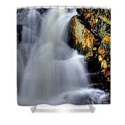 Weaving Air And Water Shower Curtain