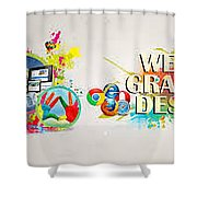 Web Design Company In Noida-wondermouse Shower Curtain