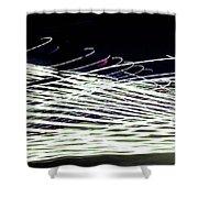 Web/light Shower Curtain