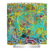 Web Of The Spider Shower Curtain