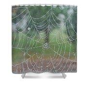 Webbed Shower Curtain