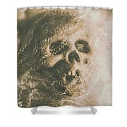Webs And Dead Heads Shower Curtain