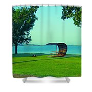 Webster State Park Shower Curtain