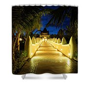 Wecome To The Hotal California Shower Curtain