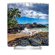Wedding Beach Shower Curtain