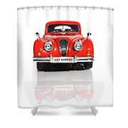 Wedding Car Shower Curtain by Jorgo Photography - Wall Art Gallery