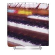 Wedding Chapel Organ Shower Curtain