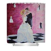 Wedding Dance Shower Curtain