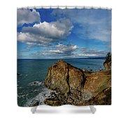 Wedding Rock Patrick Point Shower Curtain
